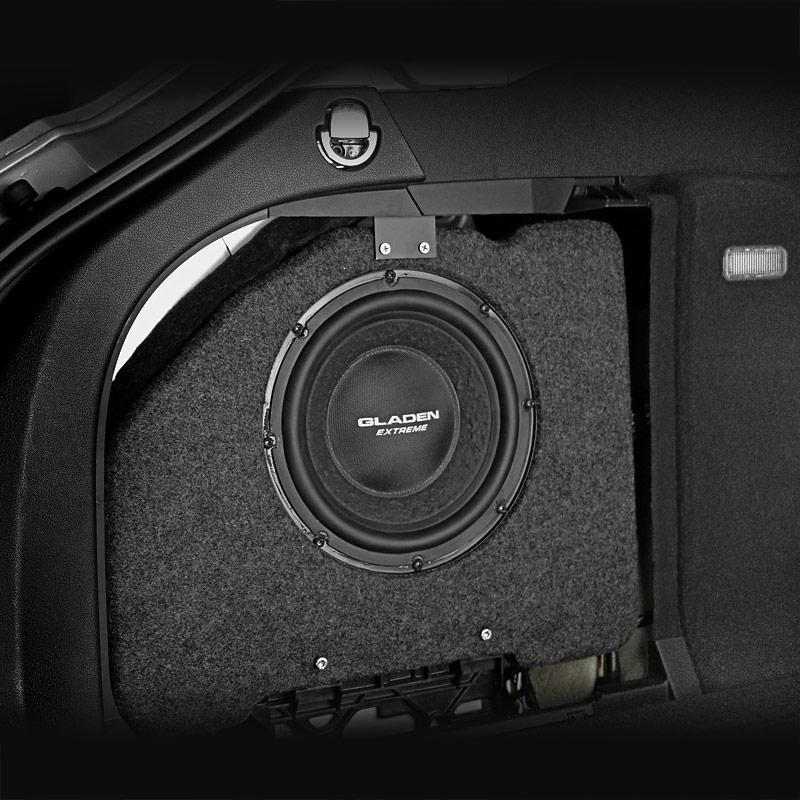 Pasklare subwoofer Audi A4