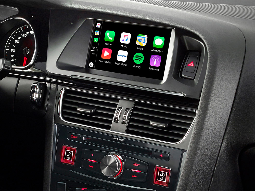 carplay en androidauto in de Audi A5