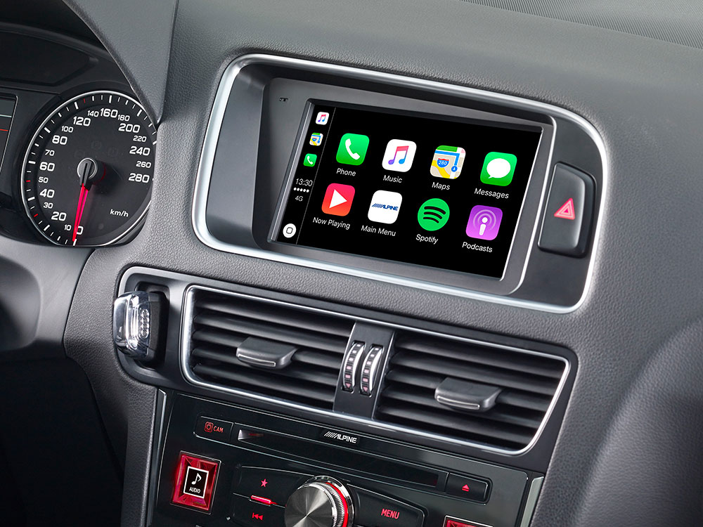 Carplay en adroidauto voor audi Q5