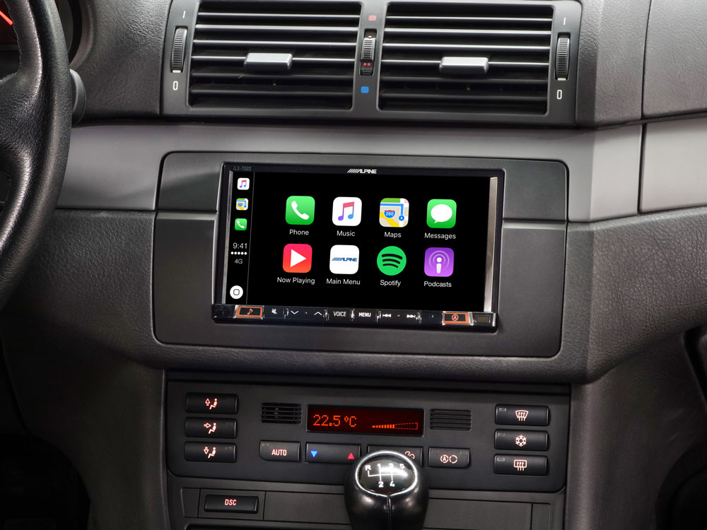 Carplay en androidauto in BMW E46