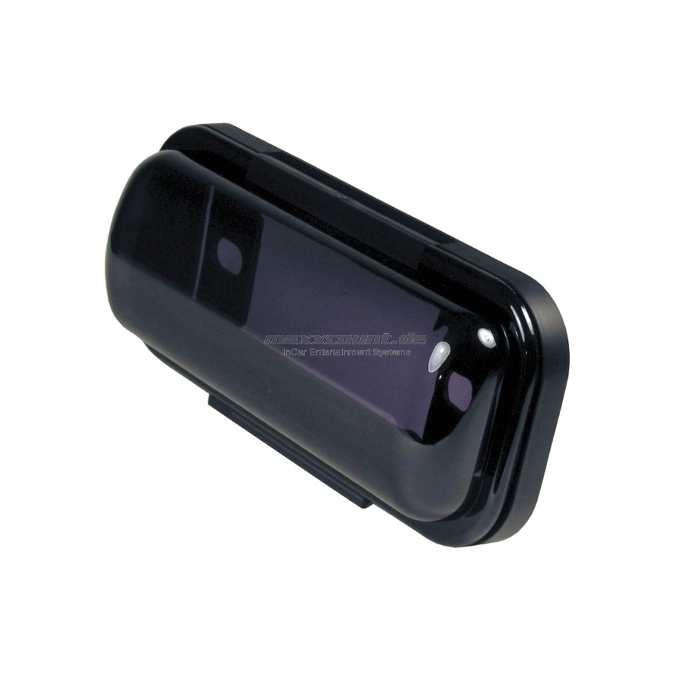 1DIN Radio Cover, black